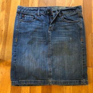 NWOT Converse One Star  jean skirt